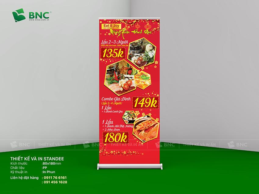 Thiết kế Standee tại Hà Nội