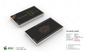 in card chuẩn doanh nhân