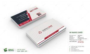 name card cho doanh nhân