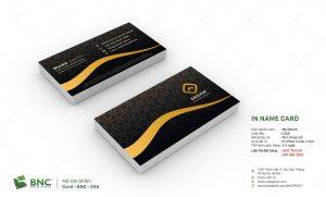 in card visit giấy c300